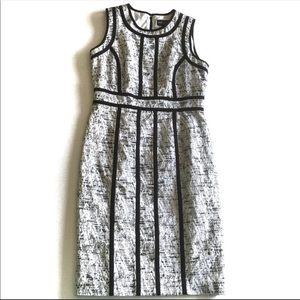 ۥ Dana Buchman Career Sheath Dress H9